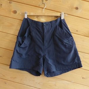 Royal Robbins Size 4 Blue 100% Nylon Shorts Hiking